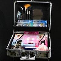 Professional False Extension Eyelash Glue Kit With Case Tool Eyelash Extension Tools SET Beauty Grafting Eyelash