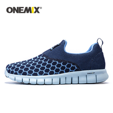 Onemix mens running shoes breathable outdoor women