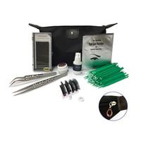 Portable Eyelashes Extension Kit Makeup Set Tools For Grafting Eyelashes 8 Different Ingredients Brush Tweezers