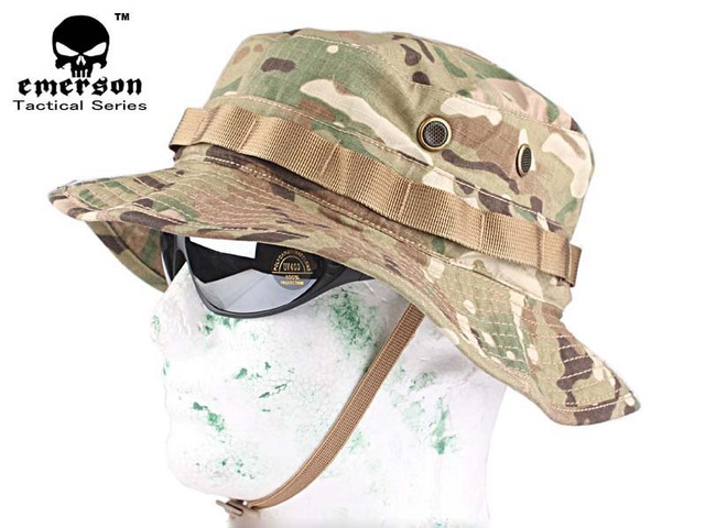 EMERSON USMC CP Camouflage Boonie Hunting Hat (Multicam) Hunting Caps f76af94462ae