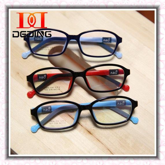 Crianças óculos de Silicone meninos meninas Miopia ambliopia leves óculos crianças Quadro Miopia DD0273