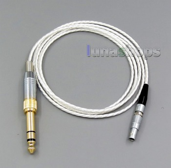 Silver Plated + 6N OCC Earphone Cable For AKG K812 Reference Headphone