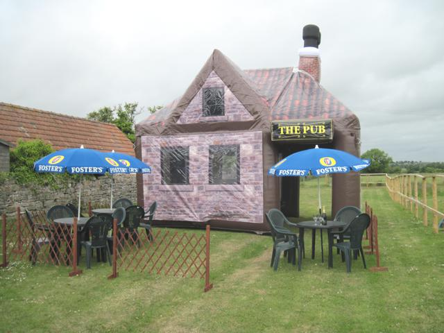 Moveable Inflatable Pub Bar Tent Fashional Inflatable Tent