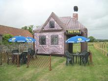 Moveable Inflatable Pub Bar Tent Fashional Inflatable Tent Room
