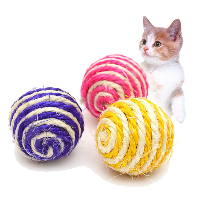 Training Rope Scratch Ball for Cats