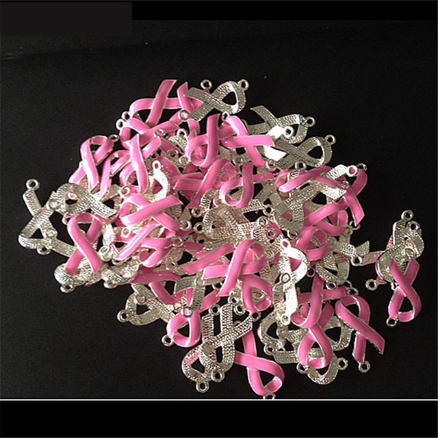 Classic Pink Ribbon For Breast Cancer Awareness Activity Mark Symbol
