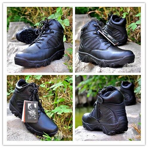Offre spéciale bottes tactiques militaire désert Combat extérieur escalade chaussures respirant portable randonnée Camping Trekking bottes 2 couleur