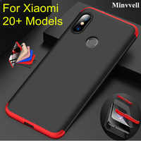 Case For Xiaomi Max 3 2 Mix 2 2S Case 360 Degree Full Protection Matte Hard PC 3 in 1 Cover For Redmi 6 Pro 5A 4X Fundas Couque