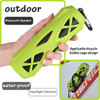 Outdoor Sport Suit Wireless Mini Bluetooth Speaker Portable Flashlight Subwoofer Bluetooth Hifi Stereo System Soundbar Speaker