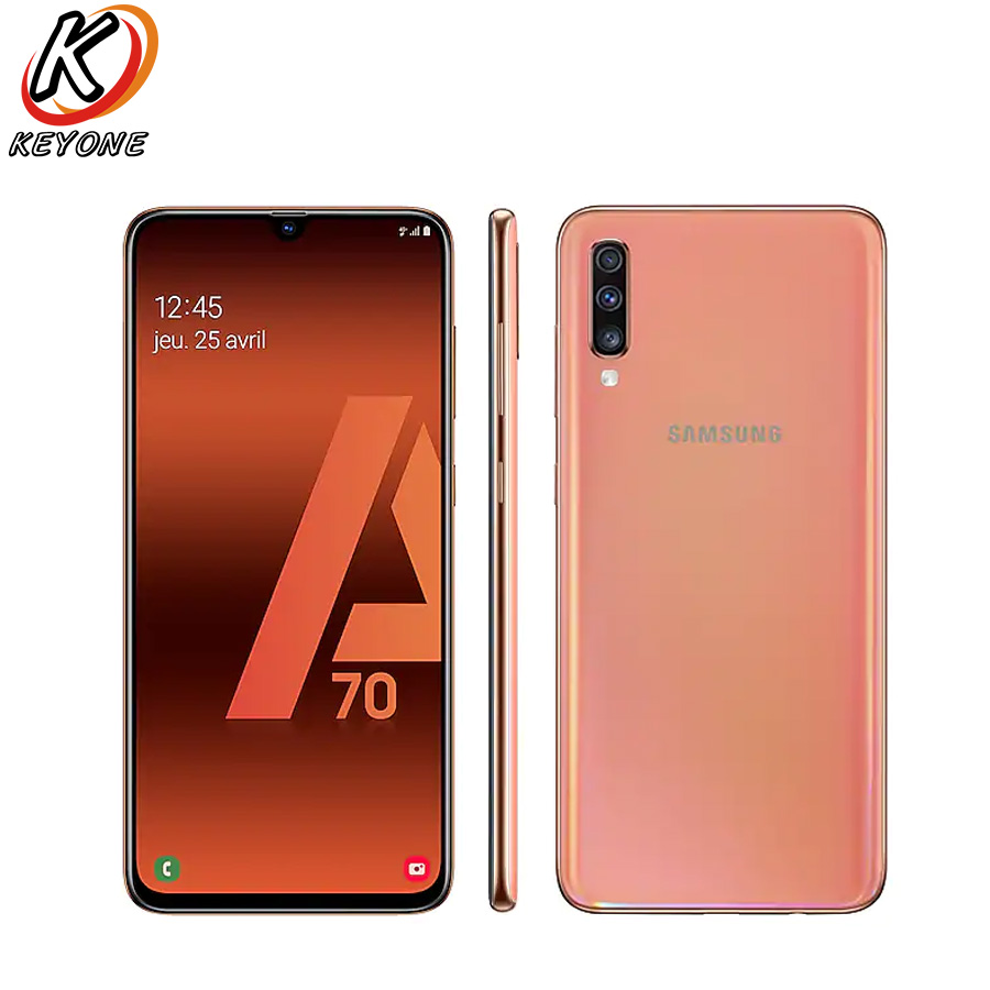 Global Version Samsung Galaxy A70 A705fn Ds Mobile Phone 6 7 6gb Ram 128gb Rom Snapdragon 675 20 9 Waterdrop Screen Cell Phone Cellphones Aliexpress
