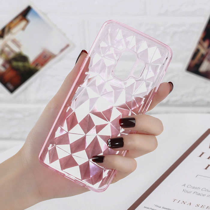 Fitted Cases Lovebay For Samsung Galaxy S7 Edge S8 S9 Plus Note 8 9 Phone Case Luxury Diamond Texture Case Clear Soft Tpu Case For Samsung S9 Phone Bags & Cases