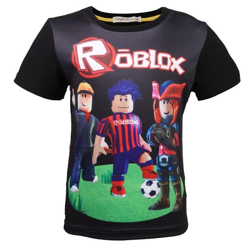 T-shirts, Tops & Shirts Boys' Clothing (2-16 Years) Kids Roblox Cartoon Boys Girls Christmas T Shirt Tshirt Xmas Game 7 To Enjoy High Reputation In The International Market