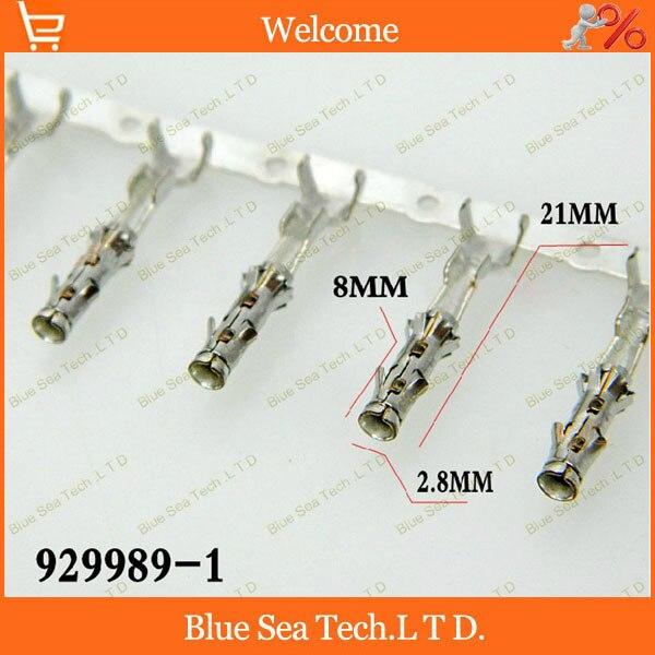 929989-1 female crimp terminal Connectors,AMP car terminals,car connector Spade wire