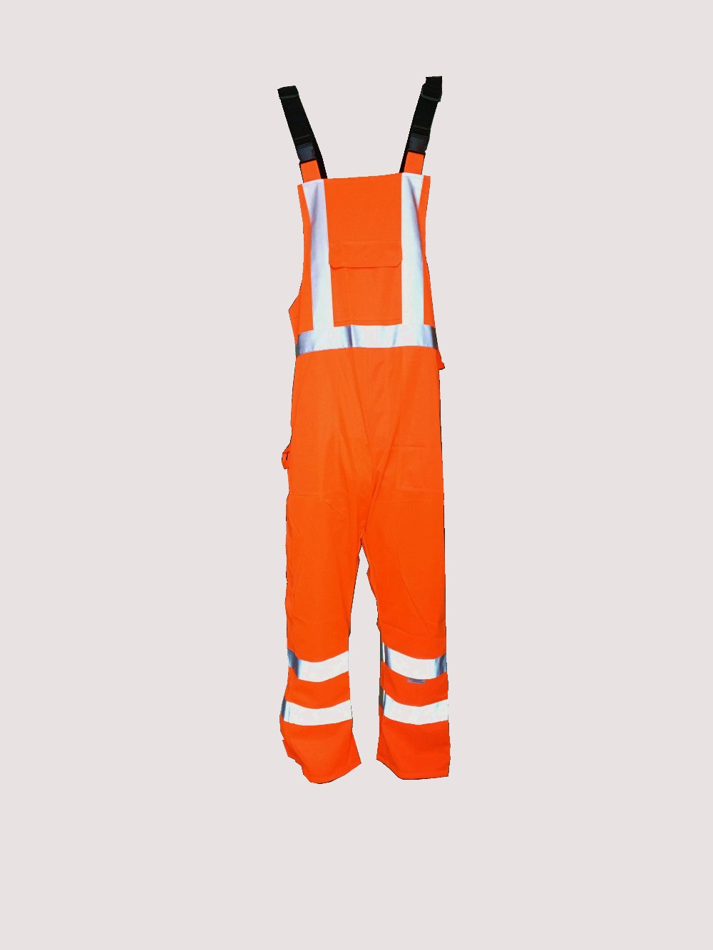 High Quality Fluorescence Orange High Visibility Safety Overall Hi Viz Reflective Workwear ccgk safety clothing reflective high visibility tops tee quick drying short sleeve working clothes fluorescent yellow workwear