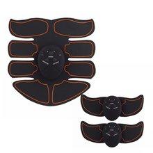 Смарт восемь пакет мышц живота Ems оборудование для тренировки мышц живота дома фитнесс-инструменты Массажная паста мышц Abs батарея