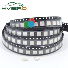 100Pcs 5050 RGB Red Green Blue SMD SMT Diode LED PLCC-6 3-CHIPS Super Bright lamp light diy kit Diodes led
