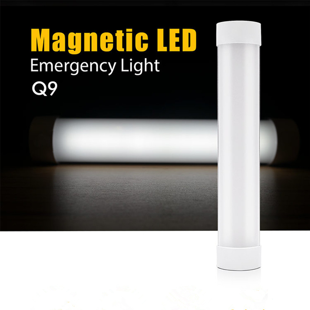 100LM LED Magnetic Camping Hiking Light 5 Level Dimming Tent Lamp Portable SOS Emergency Lantern 2000mAh Rechargeable Battery
