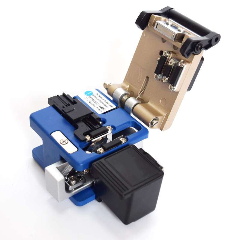 Metal Fiber Cleaver FC-6S Optical Fiber Cleaver with Storage BoxMetal Fiber Cleaver FC-6S Optical Fiber Cleaver with Storage Box