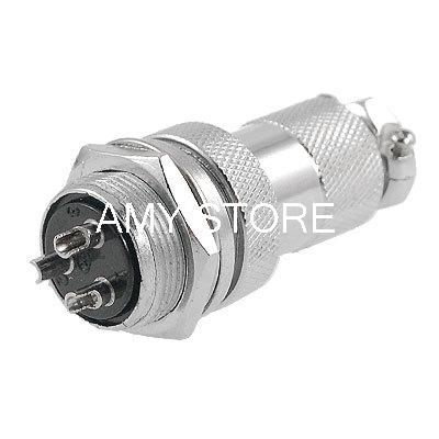 GX20-3 AC 250V 20A 3 Pins Electric Deck Aviation Connector Adapter