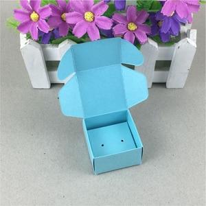 Image 5 - 100 Set עגילי כרטיס קופסא תכשיטי קראפט & מציג תכשיטי כרטיסי תכשיטי סט תכשיטי אריזה/מתנה בעבודת יד קופסות