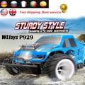 Wltoys P929 RC Автомобилей 1/28 2.4 Г 4CH 4WD Off-Road Пульт Дистанционного управления Monster Truck Автомобиль 30 км/ч РТР Электрический Щеткой RC Автомобилей toys