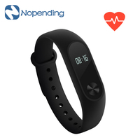 IN STOCK New Original Xiaomi Mi Band 2 Smart Heart Rate Fitness Miband Wristband 2 OLED