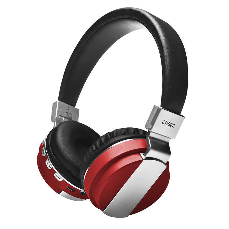 Headfone Casque オーディオ Bluetooth ヘッドセットビッグイヤホンコードレスワイヤレスコンピュータ用の Pc ヘッド電話マイク TF