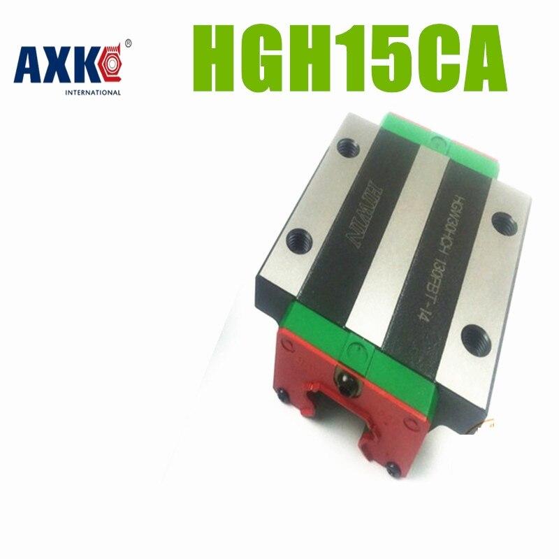 все цены на  AXK HIWIN linear guide HGH15CA CNC rail block cnc parts for HGR15 linear guide rails block  онлайн