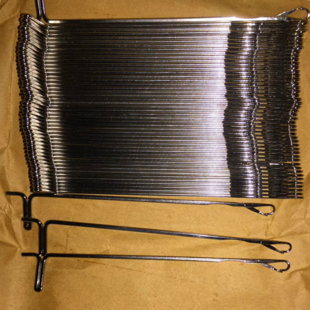 50 pçs agulhas da máquina de confecção de malhas para o irmão prata reed knitmaster empisal lk100 lk140 lk150 kx350 kx355 kx370 ferramentas acessório