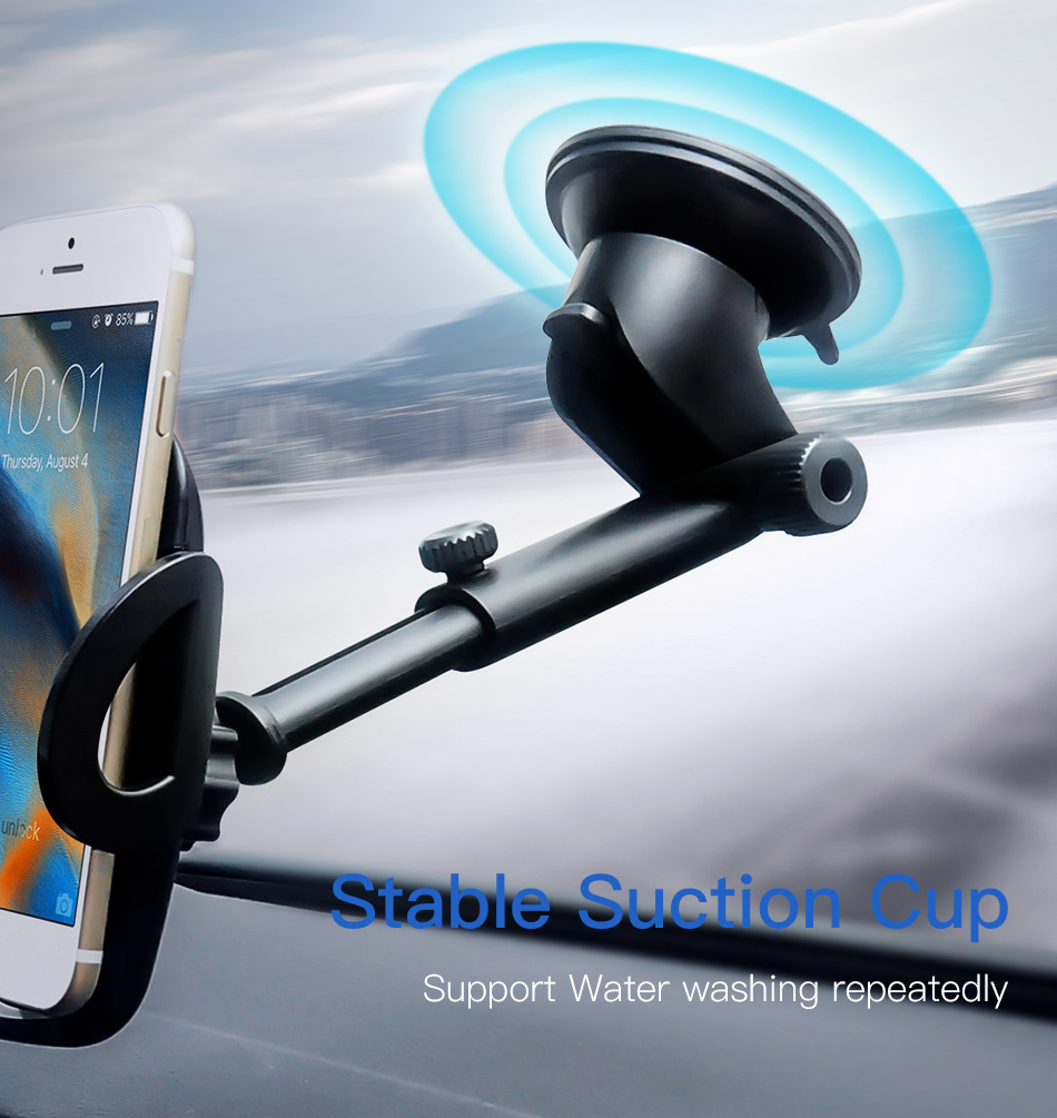 !ACCEZZ Car Phone Holder For iphone X 8 7 XR XS MAX Huawei Samsung Xiaomi Universal Car Gravity Sucker Smart Phone Stand Bracket (4)