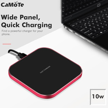 10w Qi Wireless Charger fast Charger For iPhone 7 XS max xr QC3.0 10W Fast Wireless Charging for Samsung wireless drop shipping