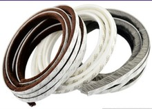 5m x 9mm 5mm Self adhesive window door seal strip draught excluder brush pile