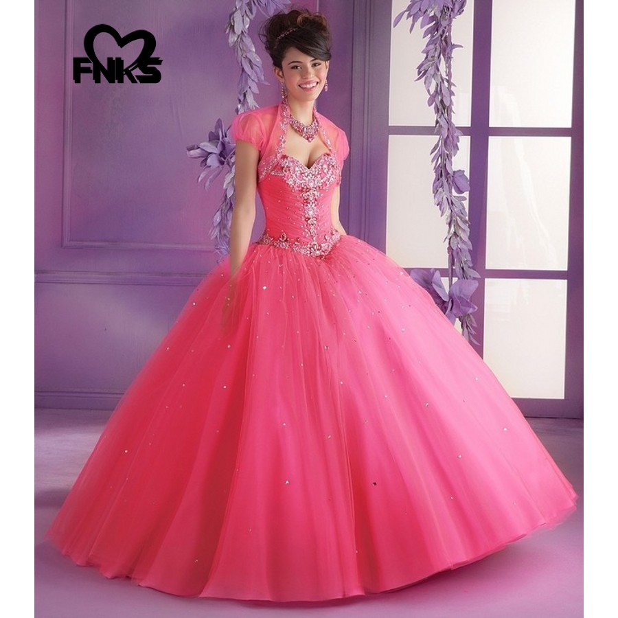 Gorgeous Beaded Sequin Sweetheart Quinceanera Dresses with Jacket  Masquerade Party Ball Gown Lace up Sweet 16 Debutant Gowns-in Quinceanera  Dresses from ... 63048531a1c7