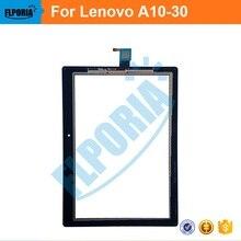 """Panel táctil de la tableta 10.1 """"pulgadas para lenovo a10-30 asamblea cristal digitalizador de pantalla táctil con flex cable 100% nuevo"""