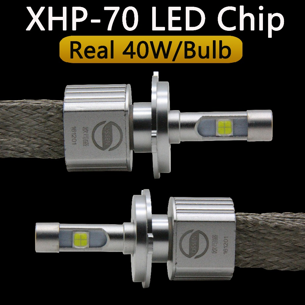 P70 XHP70 Car LED լուսարձակող H4 Hi Lo 55W XHP-70 - Ավտոմեքենայի լույսեր - Լուսանկար 3