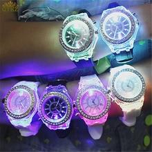 a3282dd7868 2018 new luminous quartz mulheres relógios personalidade moda masculina  amantes da moda feminina relógio de pulso das senhoras l.