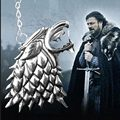 Filme de filme jogo de Thrones A canção de gelo e fogo jogo de poder de lobo dragão emblema chaveiro jóias