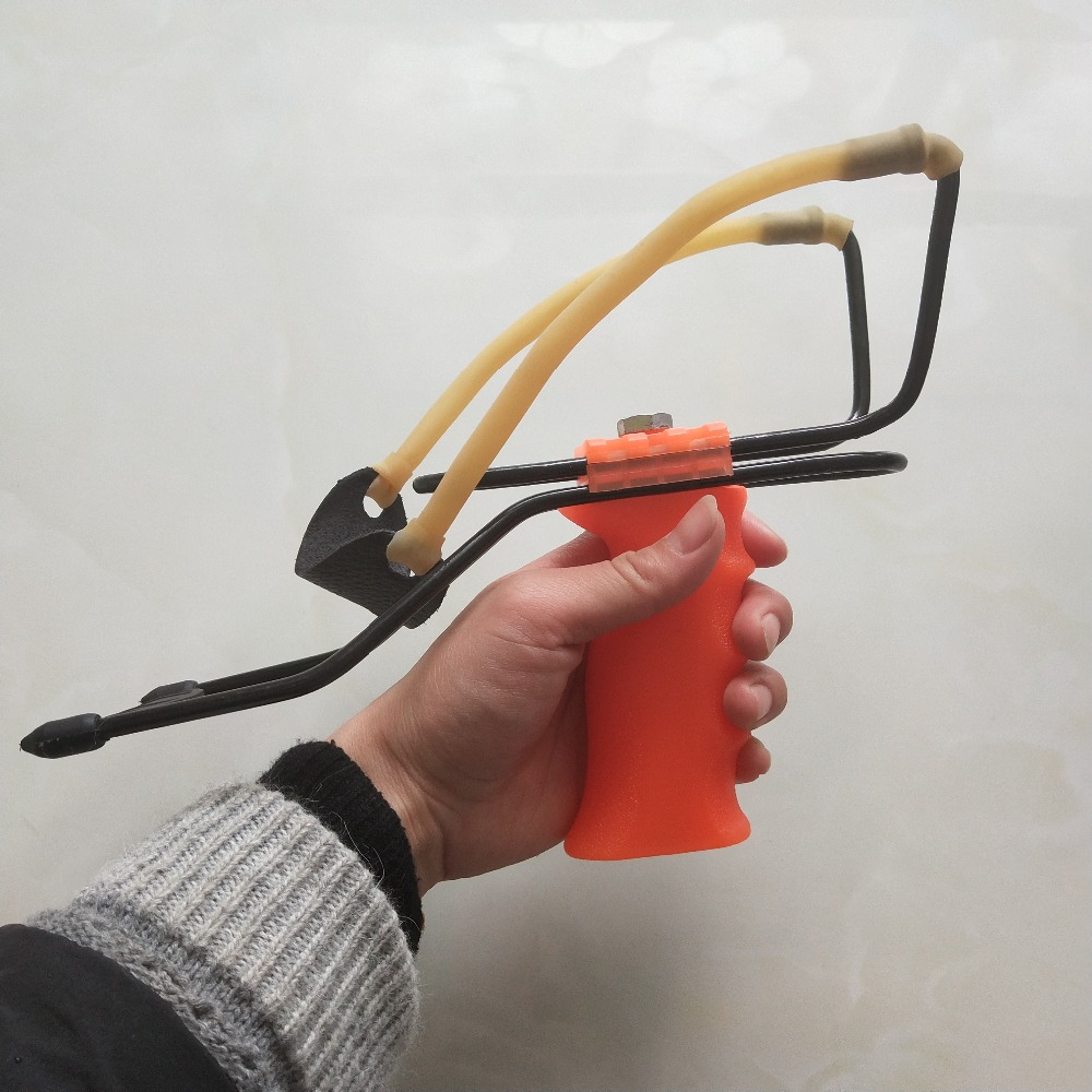 Image 5 - Professional Slingshot Catapult Rubber Band Hunting Slingshot With Wrist Rest Athletic Slingshot Outdoor Handhold Shooting Game-in Paintballs from Sports & Entertainment