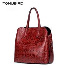 TOMUBIRD 2017 New luxury handbags women bags designer embossed quality genuine leather women handbags shoulder bag