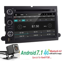 Android 7 1 2G RAM Car DVD Player GPS Navigation For Ford F150 F250 F350 Explorer