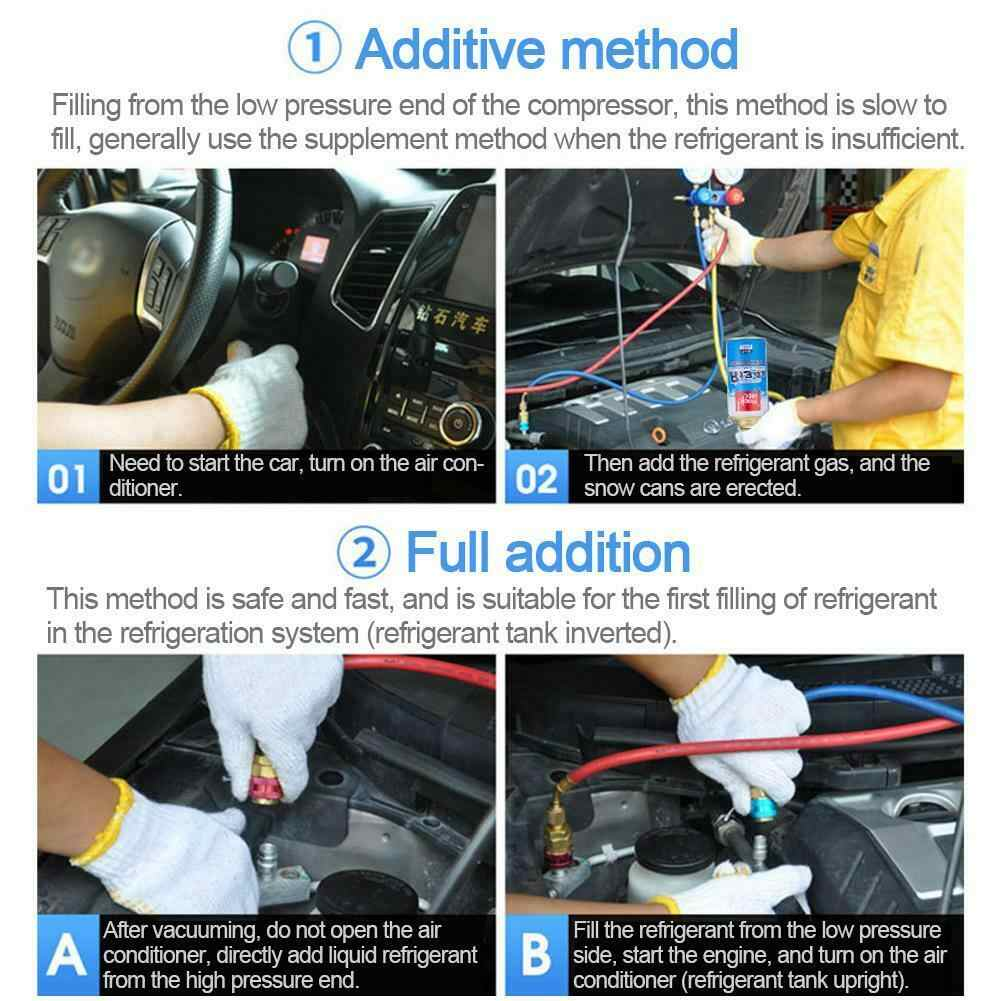 Safe R134A Car Accessories Practical Cooling Agent Eco-friendly Stable  Water Filter For Air Conditioning Automotive Refrigerant
