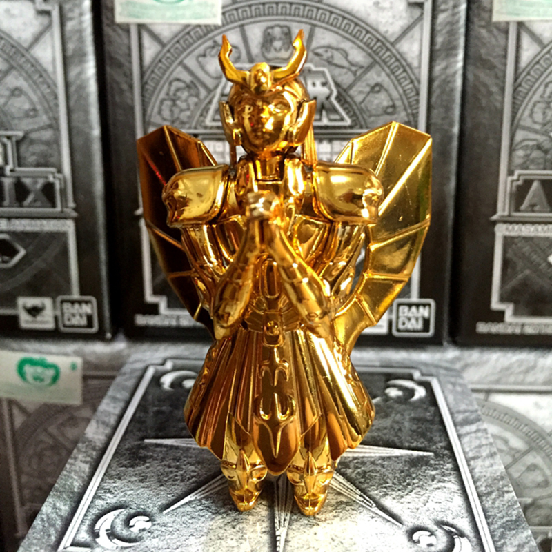 Original Action Figure Saint Seiya Myth Cloth Virgo Shaka limited Plastics Plating Action Figure Collectible Model Toys