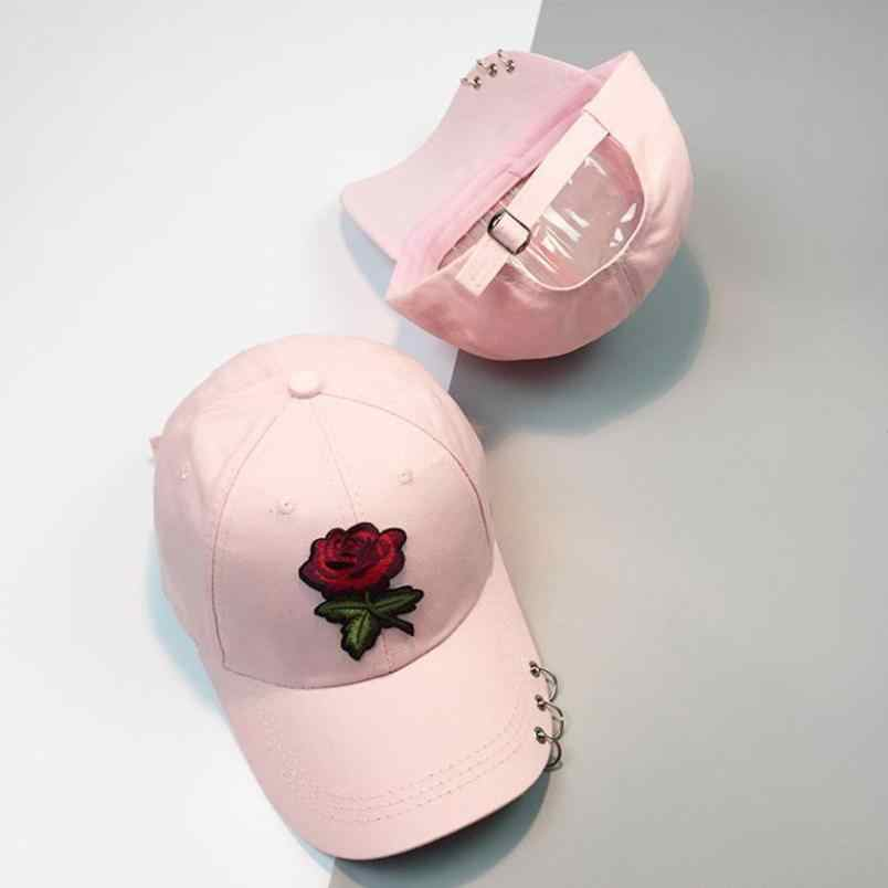 25eb123e4f9 Detail Feedback Questions about 100% Cotton Rose embroidery hat ...