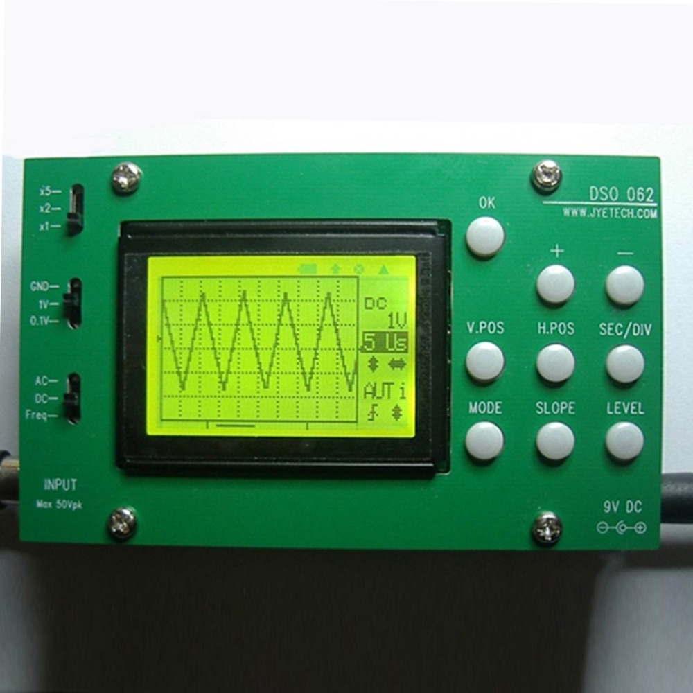 LCD Screen Display DIY Digital Oscilloscope Kit Set Parts With Panels Brand New  цены