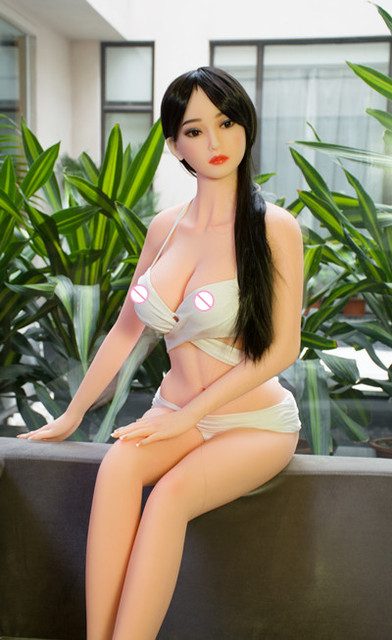 165cm 87B# Love Doll  exquisite big breast TPE sex doll male realistic vaginal oral ass TPE With Skeleton