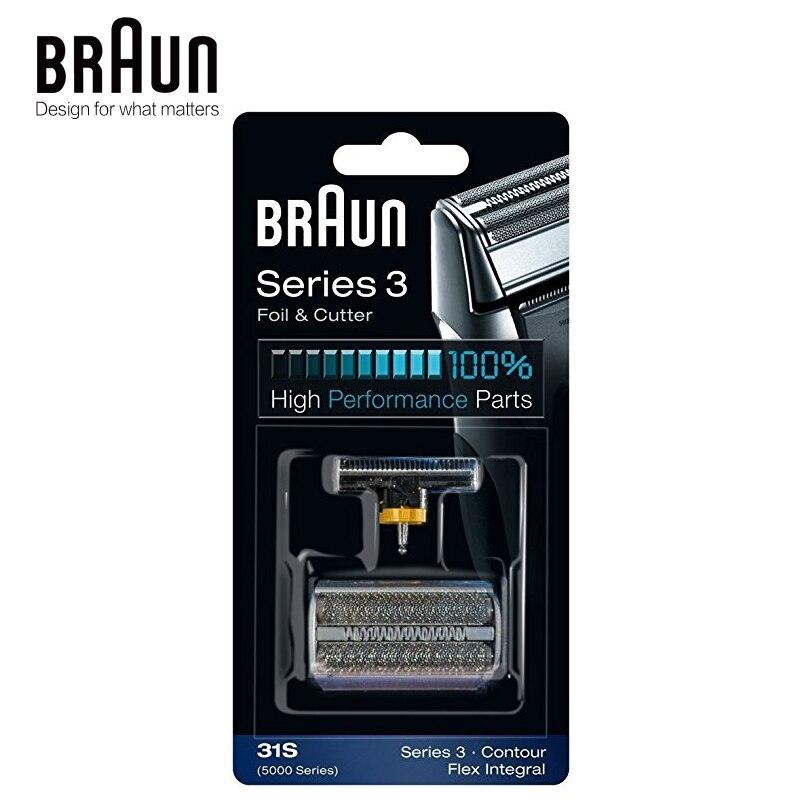 Braun 31 วินาทีเครื่องโกนหนวดไฟฟ้าฟอยล์และเครื่องตัดมีดโกนใบมีดประสิทธิภาพสูงสำหรับ 350 360 370 380 390cc-ใน เครื่องโกนหนวดไฟฟ้า จาก เครื่องใช้ในบ้าน บน AliExpress - 11.11_สิบเอ็ด สิบเอ็ดวันคนโสด 1