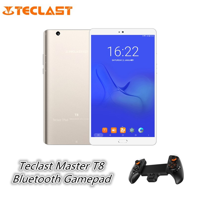 Teclast Master T8 8.4 inch Tablet PC Android 7.0 MTK8176 Hexa Core 1.7GHz 4GB 64GB Fingerprint Recognition 13.0MP Front Camera