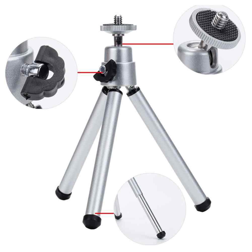 Soporte de montaje Flexible para trípode, cámara Digital SLR DV, Mini proyector portátil para teléfono móvil profesional de altura ajustable
