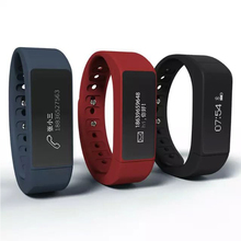 i5plus Smart Bracelet Bluetooth 4.0 waterproof Touch Screen Wristband Fitness Health Tracker SMS / Call Reminder Smart Watch