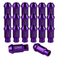 EE support 20 X For Honda Acura JDM D1 Spec Purple Wheel Lug Nuts M12 X1.25MM For Civic Integra XY01
